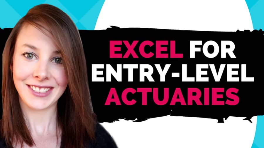 What Do Entry-Level Actuaries Need to Know About Excel? - Etched