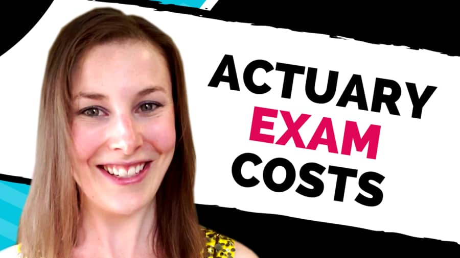 Actuarial Exam Costs (Exam Fees + Study Materials) - Etched Actuarial